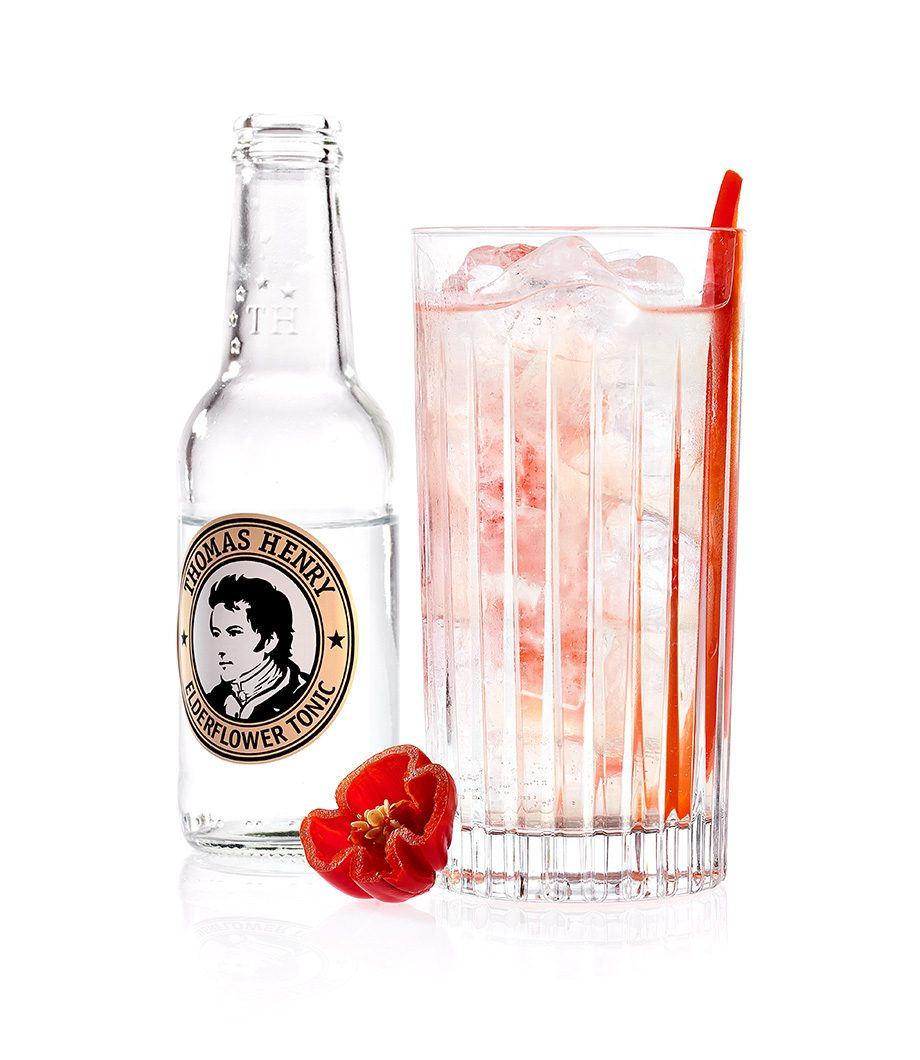 El Picador mit Thomas Henry Elderflower Tonic