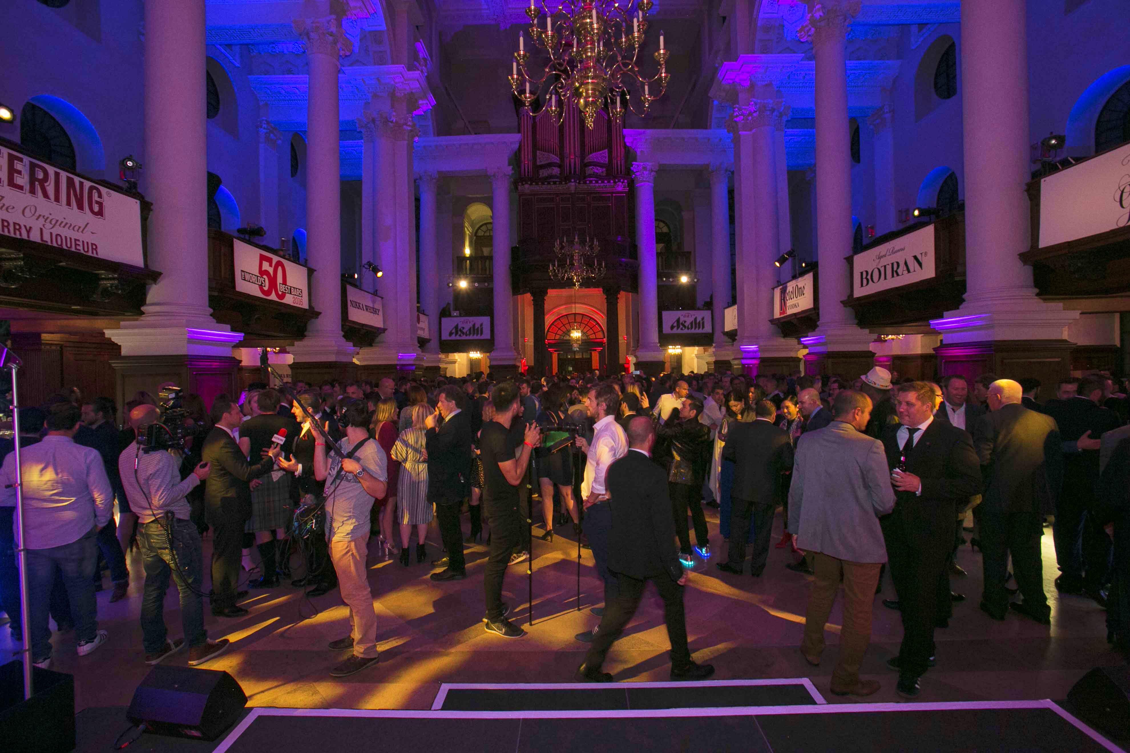 Einblick in das Event World's 50 Best Bars 2017