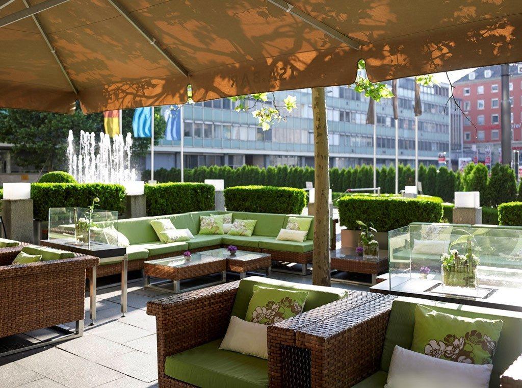 Die Terrasse der ISArBAR in München