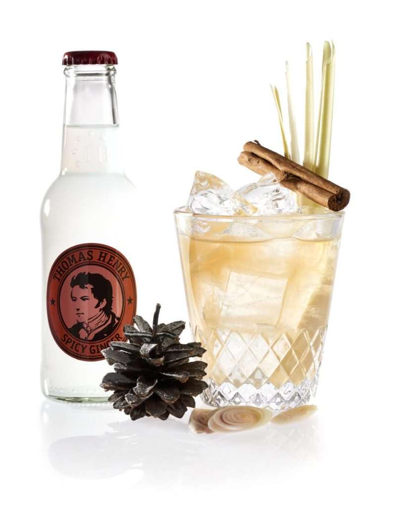 Der Asian Winterpunch mit Thomas Henry Spicy Ginger