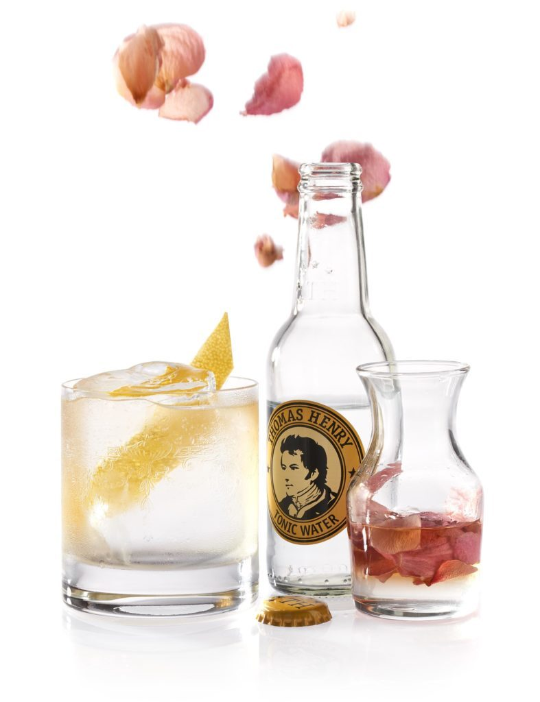 Der Henry Rose mit Thomas Henry Tonic Water