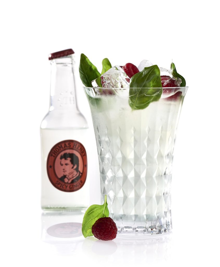 Der Basil Berry mit Thomas Henry Spicy Ginger