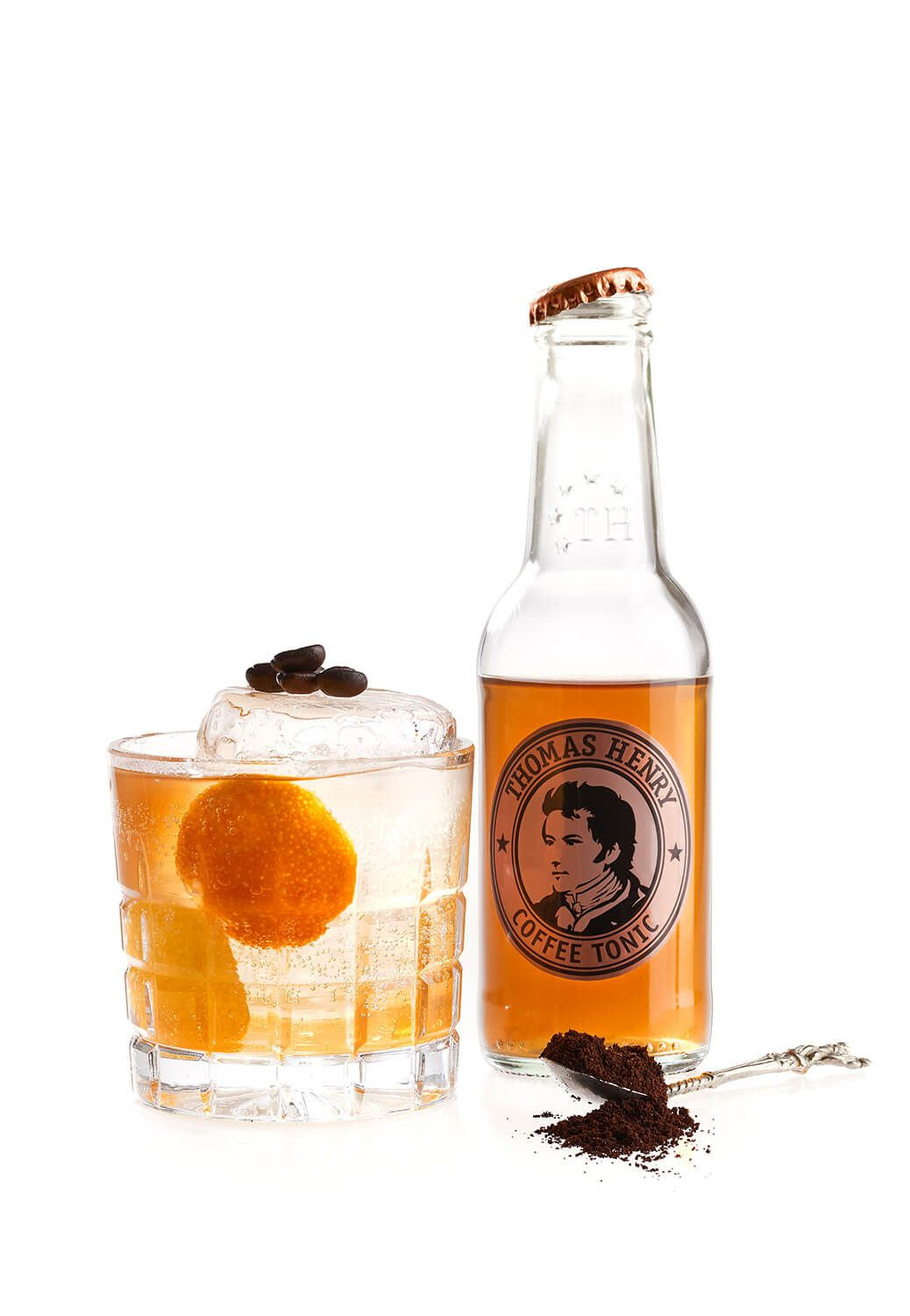 Der Coffee on the Rocks mit Thomas Henry Coffee Tonic
