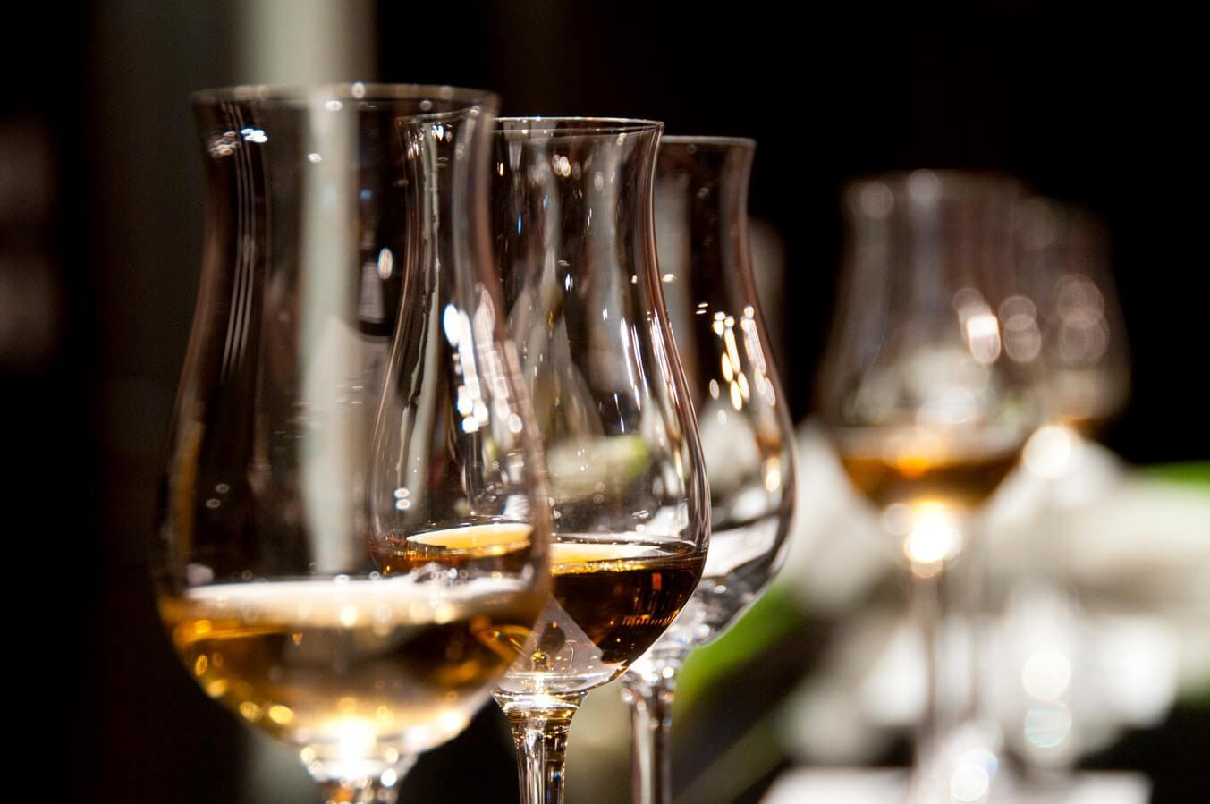 Mood-Setting des Wheel of Spirits zum Thema Scotch & Irish Whisk(e)y
