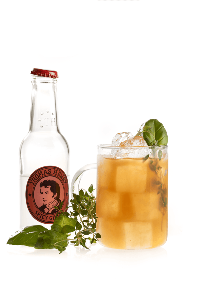 German Mule mit Thomas Henry Spicy Ginger