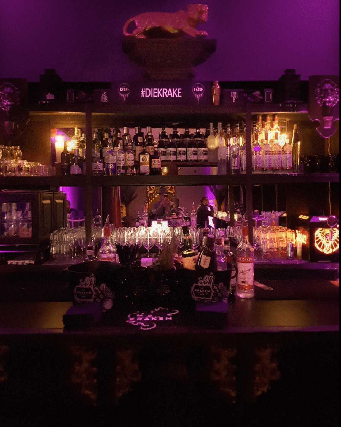 Die Bar in der Bar Die Krake in München