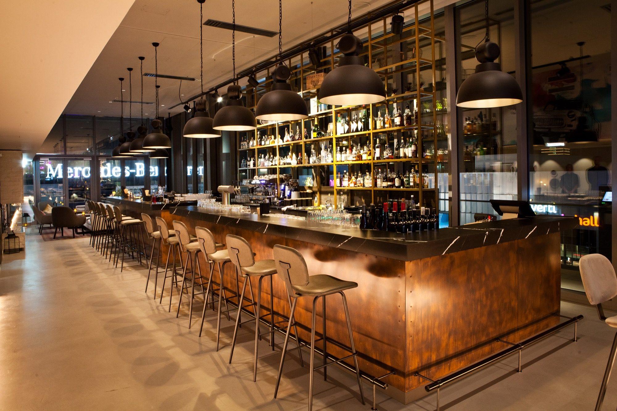 Die Bar der Gallery Rooftop Bar in Berlin