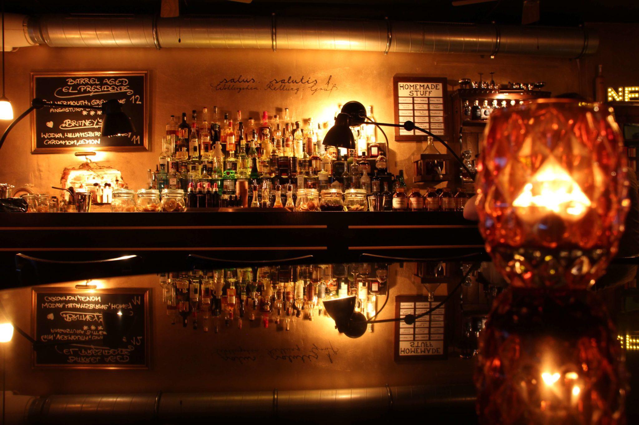 DIe Bar in der Salut Bar in Berlin