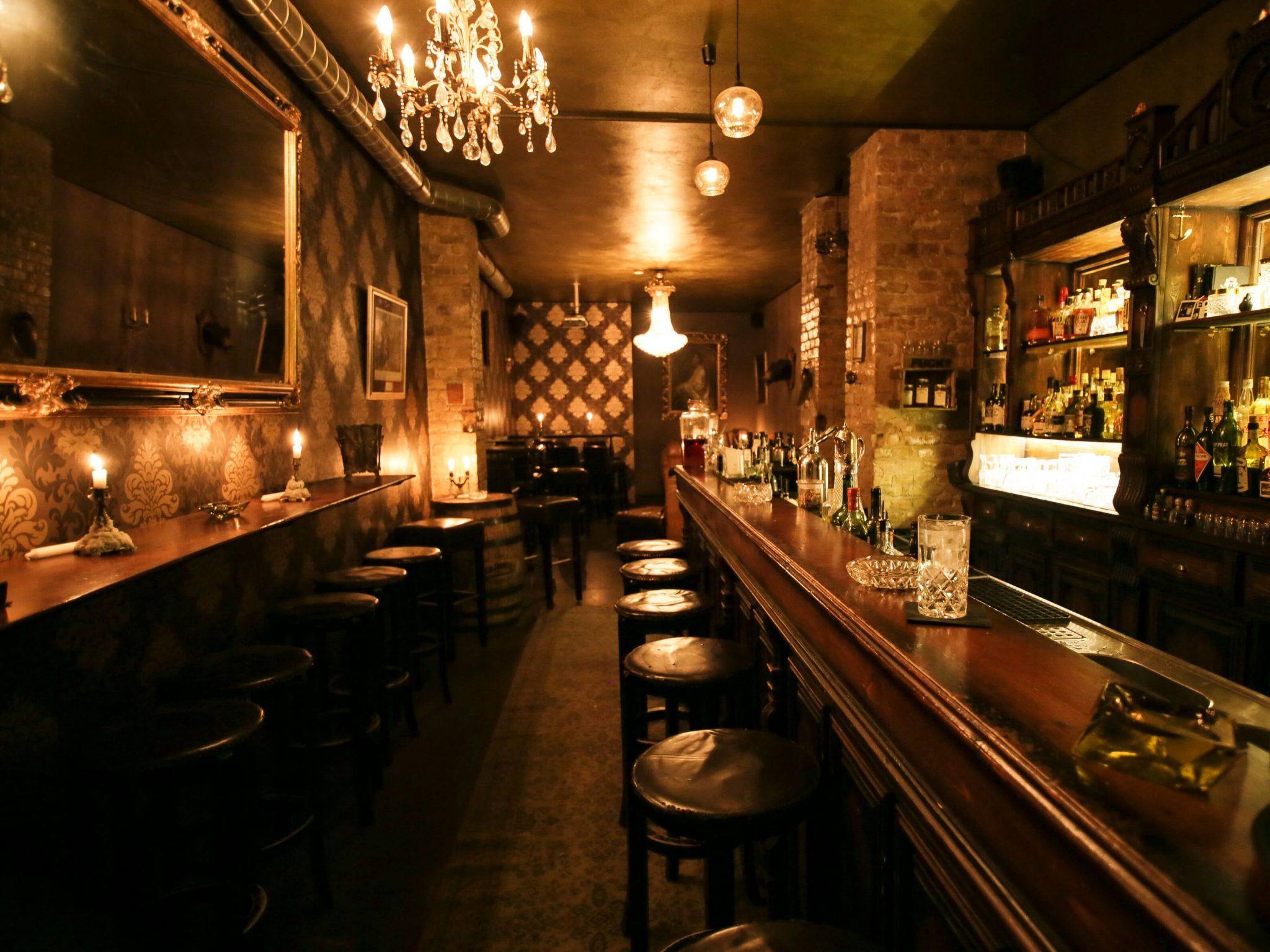 Blick in die Bar Perro Loco
