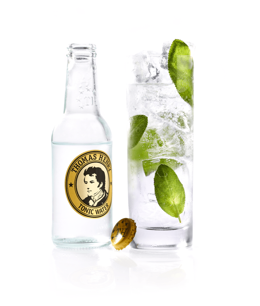 cocktail klassiker thomas henry tonic water sage gin tonic