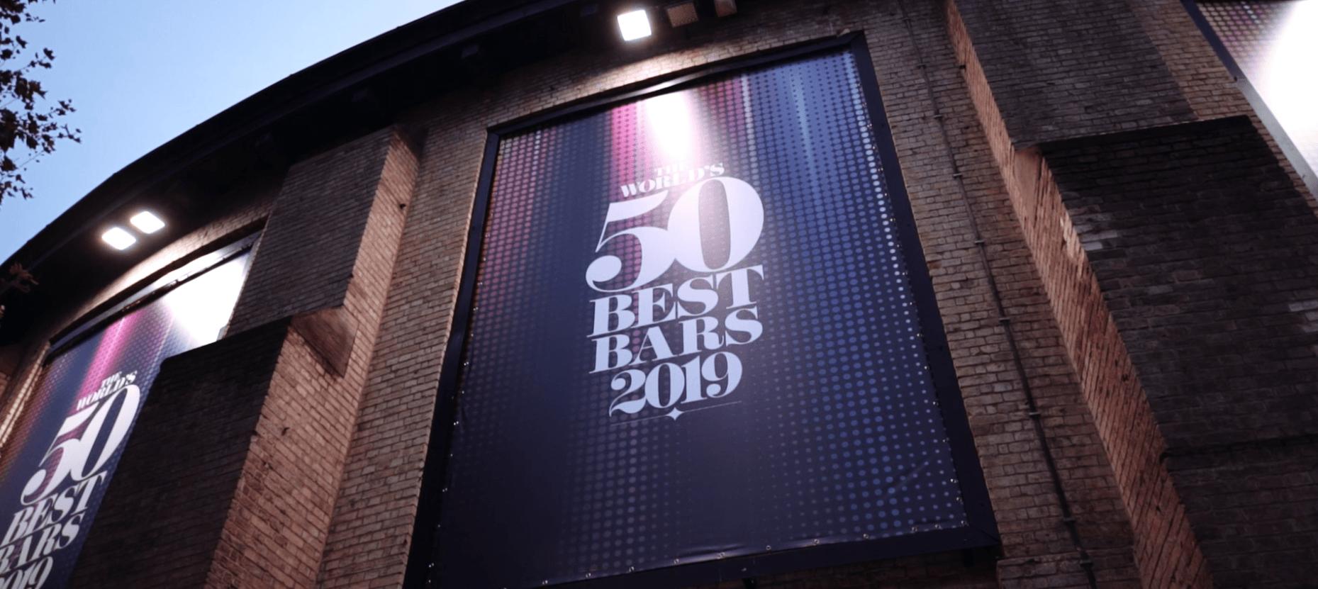 Thomas Henry bei den Worlds 50 Best Bars in London 2019