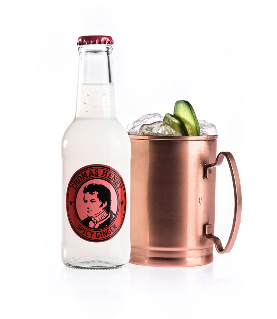 Der Moscow Mule mit Thomas Henry Spicy Ginger