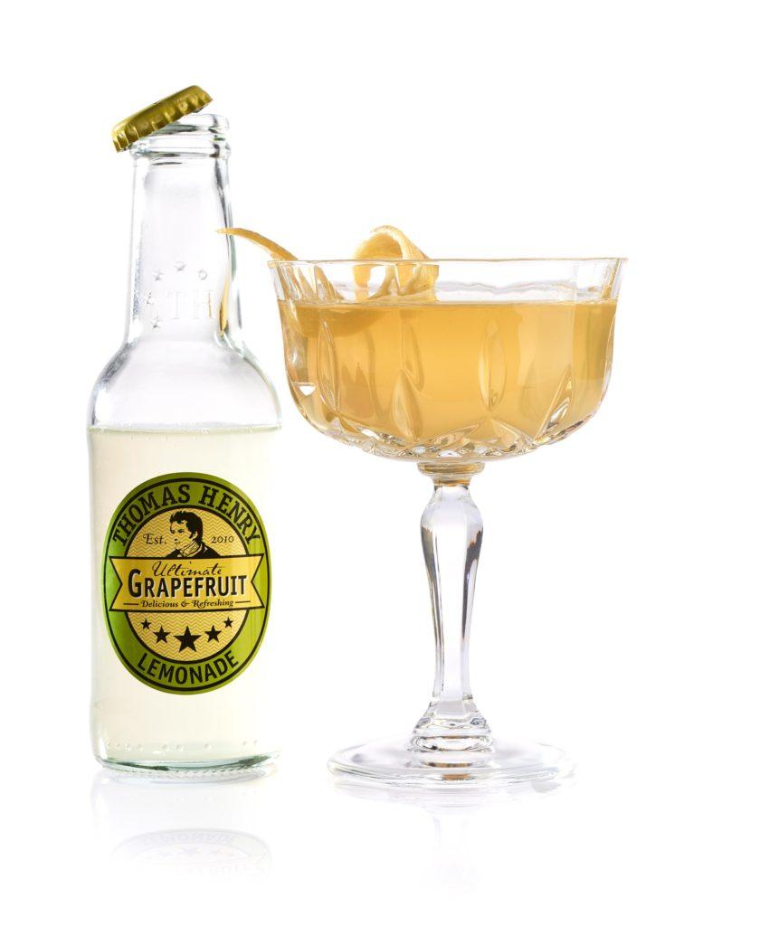 Der Golden Age Martini mit Thomas Henry Ultimate Grapefruit