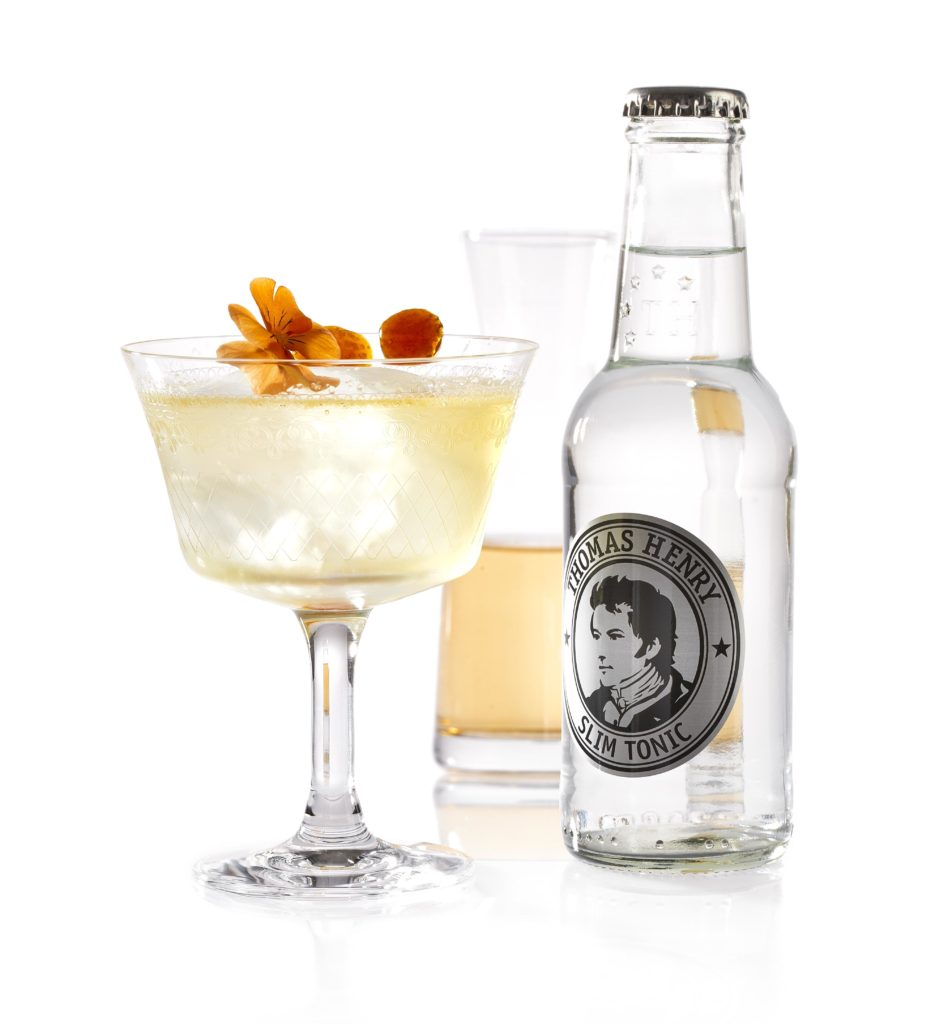 Der Eau de Grasse mit Thomas Henry Elderflower Tonic