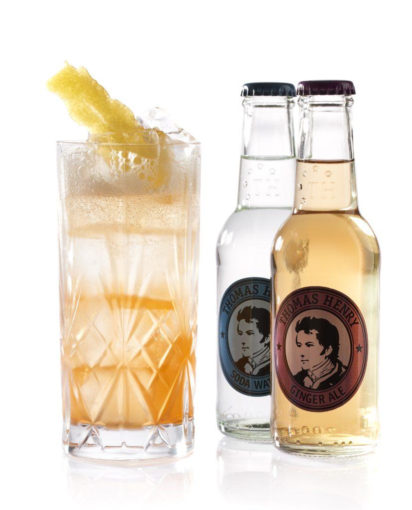 Der Marengo's Neck mit Thomas Henry Ginger Ale und Soda Water