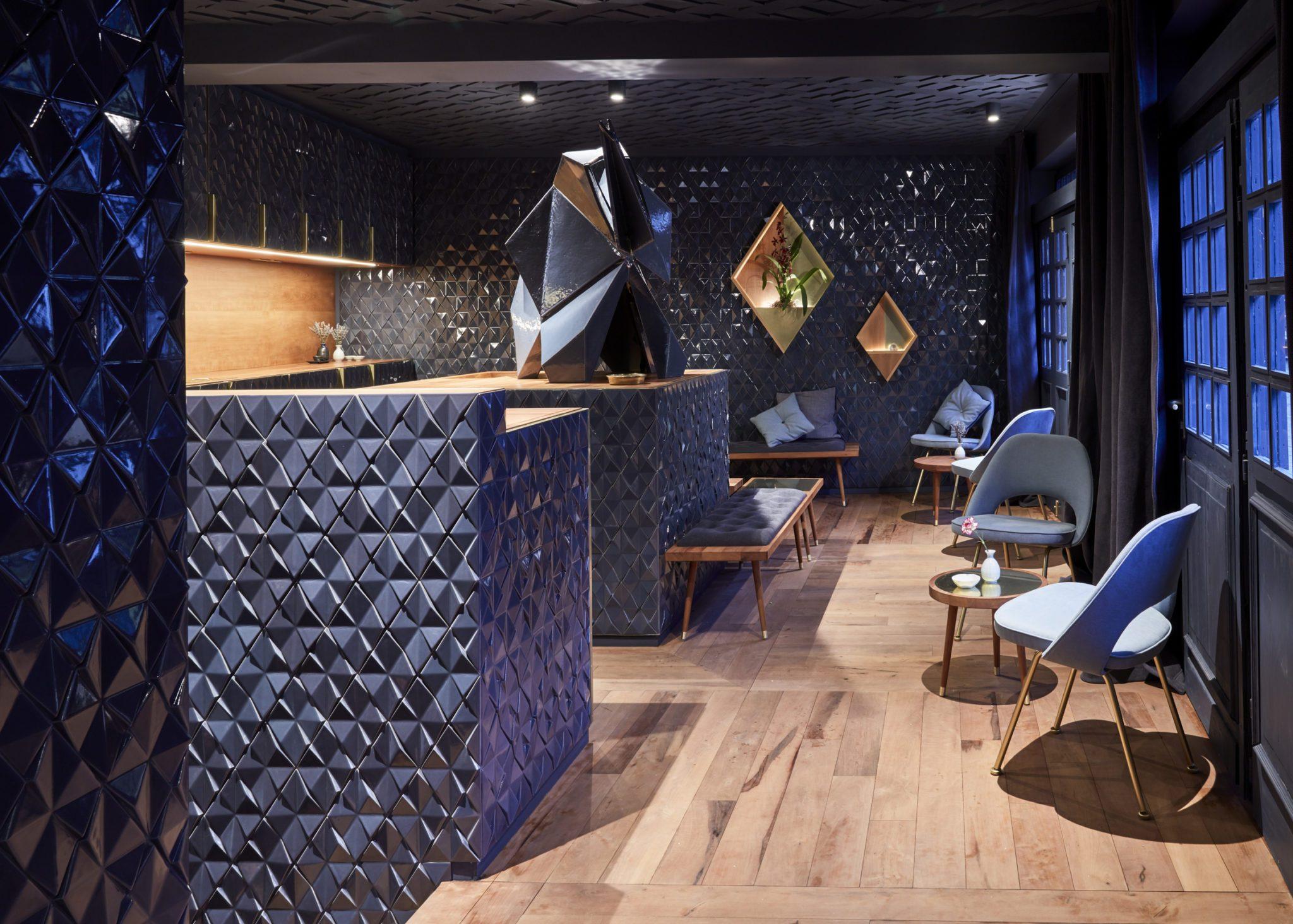 Ein Blick in die Bar Bonechina in Frankfurt