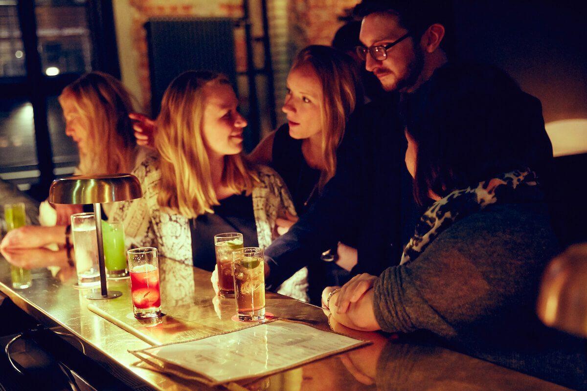 Ambiente in der Bar Boilerman in Hamburg