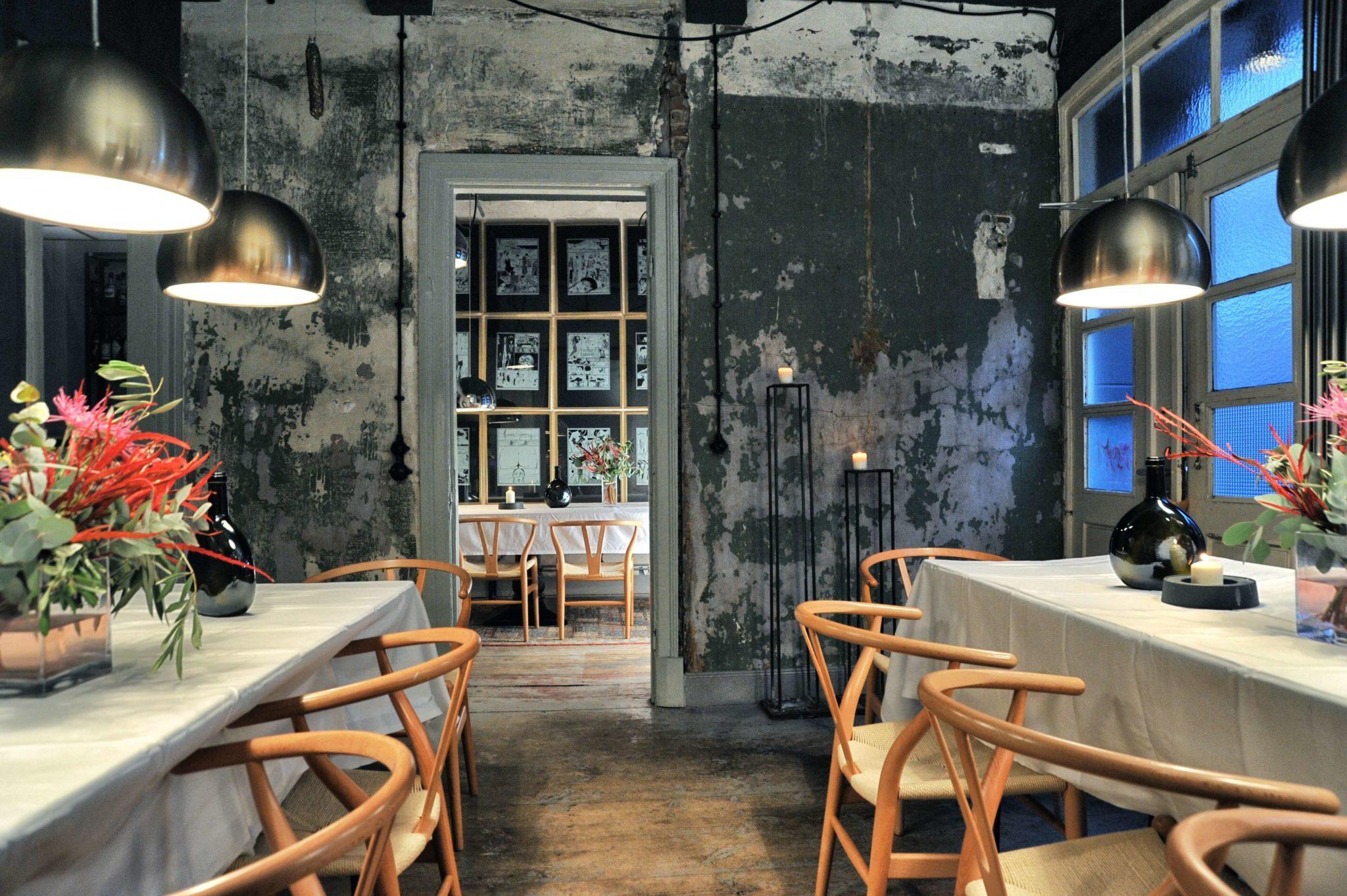 Ein Blick in die Bar Standard in Hamburg