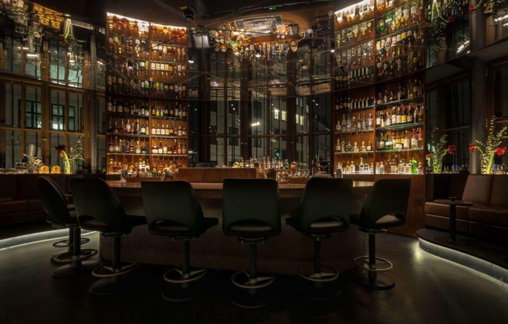 Einblick in die Bar Circle in München