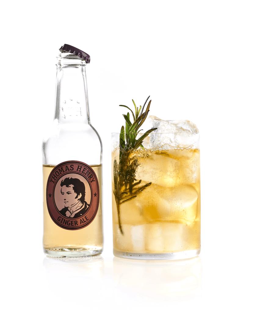 cocktail klassiker thomas henry ginger ale rosemary horses neck