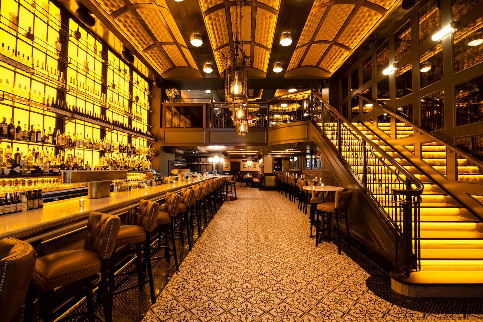 Einblick in die Bar Valerie in New York